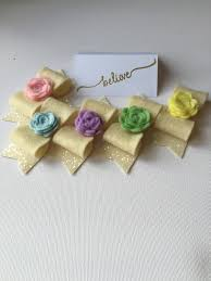 Girls Favourite Flowers - love the chunky glitter fabric and felt rose detail on these