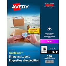 label avery las 4x2 wht 250 31305 00 05263 fournitures de
