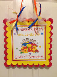 63 best the wiggles party images on pinterest wiggles birthday