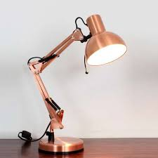 copper dome head desk lamp dunelm