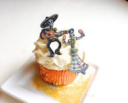 Halloween Cake Decorations Edible by Edible Skeletons New Small Size Dia De Los Muertos Cake