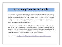 sample chartered accountant cover letter chartered accountant