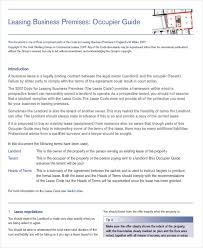 15 property rental agreement templates u2013 free sample