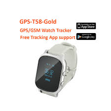 gps bracelet iphone images T58 smart gps tracker children watch baby sos button tracker jpg