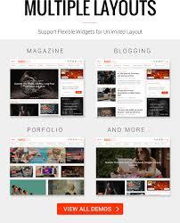 magone responsive news u0026 magazine blogger template by tiennguyenvan