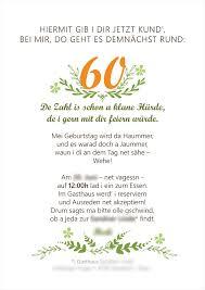 geburtstag 60 sprüche sprüche 60 geburtstag einladung intelligent zum 60 geburtstag