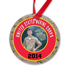 usmc ornaments 3 quarters today
