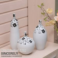decorative crafts for home hand made ceramic three piece arranged the gift ink color decoration