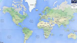 Mercator World Map by Why