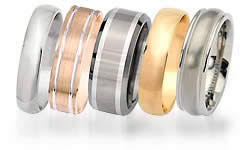 wedding band material engagement and wedding ring metal types of ring metals