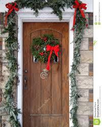 christmas front door wreaths u2013 happy holidays