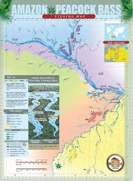 Amazon World Map by Amazon Fishery Map River Plate Anglers