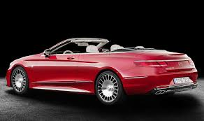 maybach mercedes jeep mercedes maybach drops top with limited edition s class cabriolet