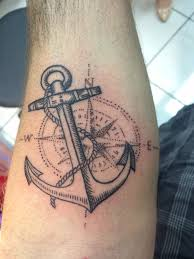 Nautical Map Tattoo To My Followers This Is My Tattoo I Got It Done Today It Was