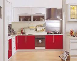 Red And White Kitchen Ideas Amazing Cherry Red Kitchen Cabinets Mykitcheninterior Kitchen