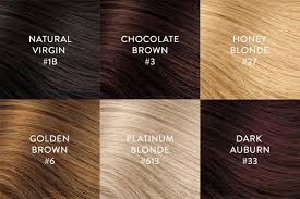 hair color chart hair extension color chart perfect locks