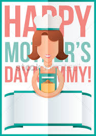 Mother S Day Designs Mothers Day Design With Chef Vector Image 1810771 Stockunlimited