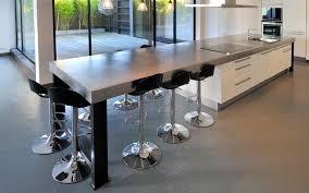 ilot cuisine repas cuisine avec ilot central table 9 grand ilot avec espace repas