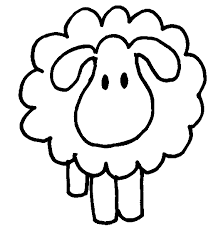 coloring pages baby lamb clipart library clip art library