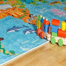 my torino kids tok 233 world map rug therugshopuk