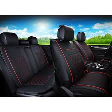 lexus seat covers nz pu leather 5 seats car seat covers front u0026amp rear set w neck