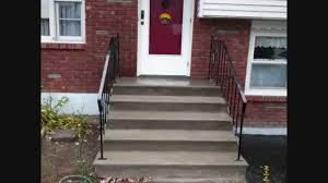Cement Stairs Design Quick Concrete Stair Makeover For Stairs With Minor Wear U0026 Tear