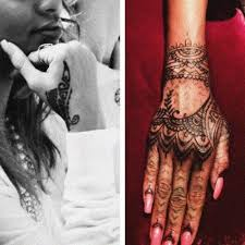 25 trending tribal hand tattoos ideas on pinterest rihanna hand