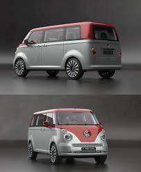 volkswagen van back volkswagen t1 revival concept