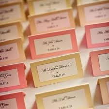 wediquette and all about place cards