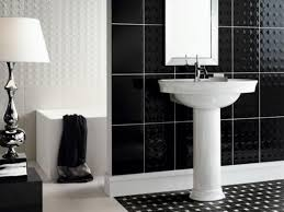 black and white tiled bathroom ideas black and white bathroom tile 1000 ideas about black white