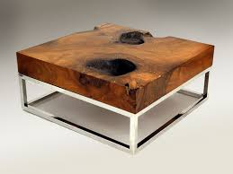 side table ideas creditrestore us rustic living room wood coffee tables wood with natural designs and also chrome metal legs