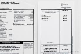 Bill Of Sale For A Car In Texas by Negotiating A Dealer U0027s New Car Add Ons Edmunds