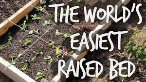 how to build the world u0027s easiest raised bed garden cheap youtube