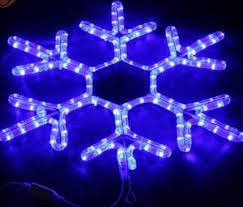 china 3d led outdoor snowflakes light for decoration