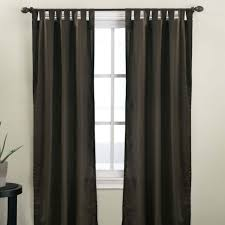 Tab Top Button Curtains How To Make Tab Top Curtains Elliott Spour House
