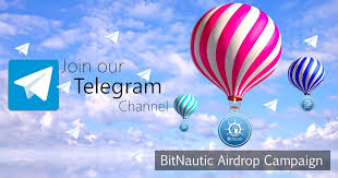 balloon telegram bitnautic announces free btnt bitnautic token telegram community