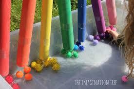 colour sorting pom pom drop game the imagination tree