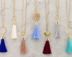 tassel necklace images Tassel necklace etsy jpg