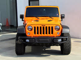 jeep wrangler orange 2016 jeep wrangler unlimited rubicon 4x4 stock 180285 for sale