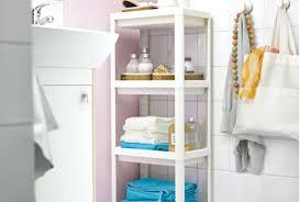 Pink Bathroom Storage Bathroom Storage Cabinet White Cabinet Pink Bathroom With A White