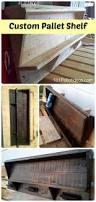 custom pallet shelf stevensville pallet project