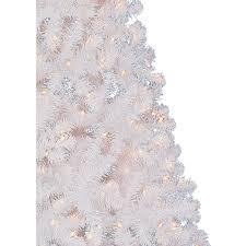 holiday time pre lit 6 5 u0027 madison pine white artificial christmas