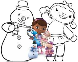 free doc mcstuffins coloring pages activity sheets print them now
