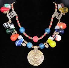 wedding bead necklace images African wedding bead necklace jpg