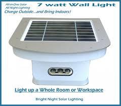 bright night solar lighting bright night solar lighting 7 watt wall mount light
