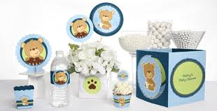 teddy baby shower favors boy baby shower themes by babyshowerstuff