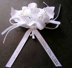 baby shower capias personalized white baby shower corsage capias w charm pin