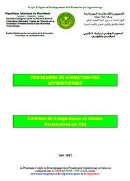 apprentissage en cuisine restauration programme de formation par apprentissage certificat de compétences