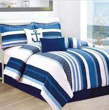 Nautical Themed Bedding Nautical Duvet Cover Bedding Set Custom Color Option And Anchor