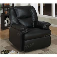 Leather Rocker Recliner Rocker Recliner Black Fuax Leather